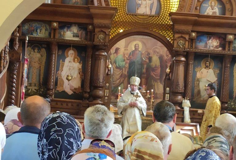4 августа в день  памяти святой равноапостольной Марии Магдалины митрополит Симбирский и Новоспасский Анастасий возглавил служение Божественной литургии
